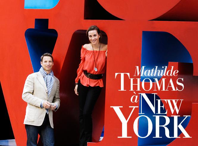 Mathilde Thomas à New York