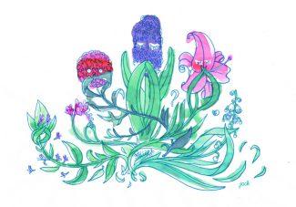 Fleurs muettes