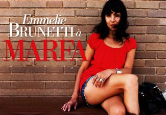 Emmelie Brunetti à Marfa