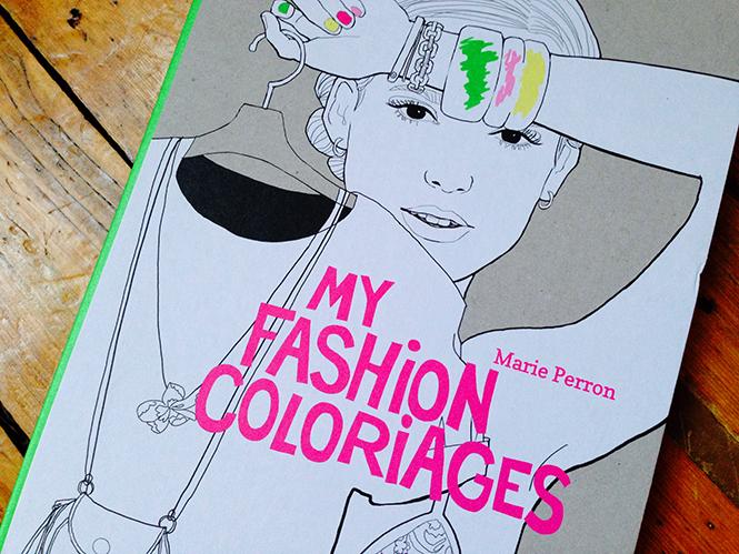 La mode à colorier de Marie Perron