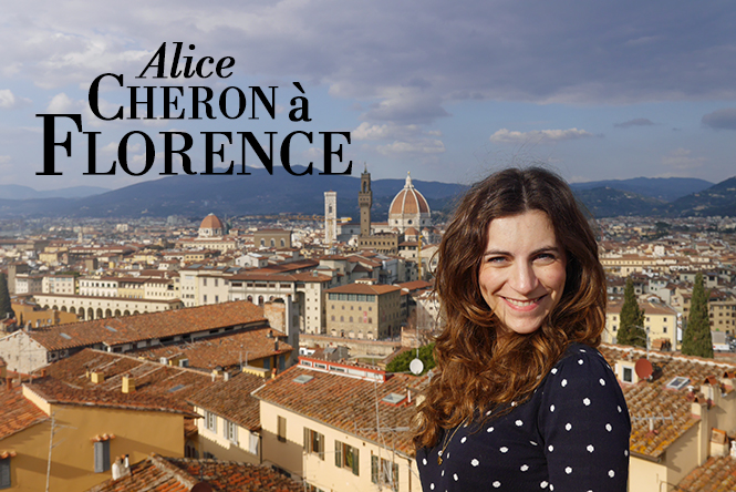 Alice Cheron à Florence