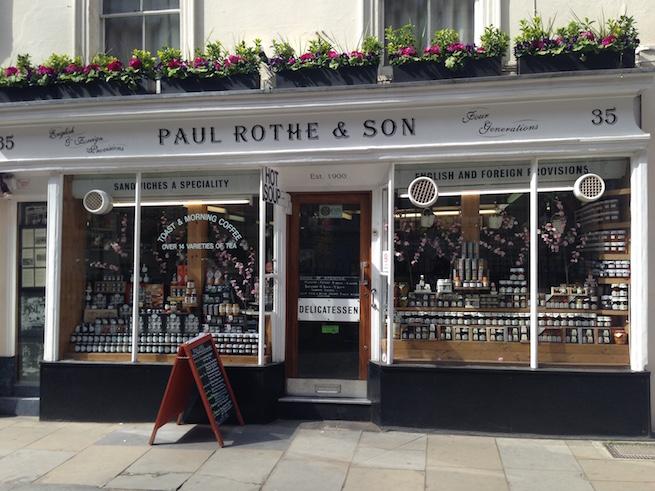 Paul Rothe and Son à Marylebone