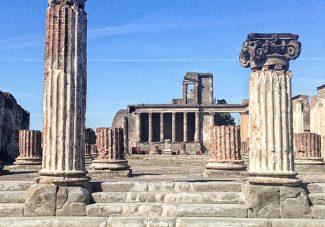 Pompéi et le bord de mer Napolitain