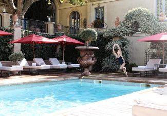 La Villa Gallici à Aix en Provence