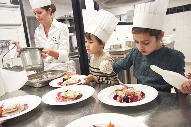 Ateliers cuisine à l'Hôtel Royal à Evian