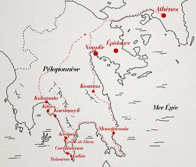 Road-trip dans le Péloponnèse: demandez le programme