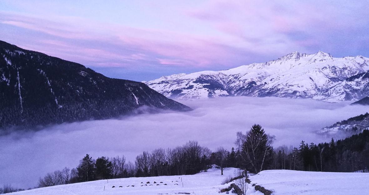 Chalet Rosière dans les Alpes