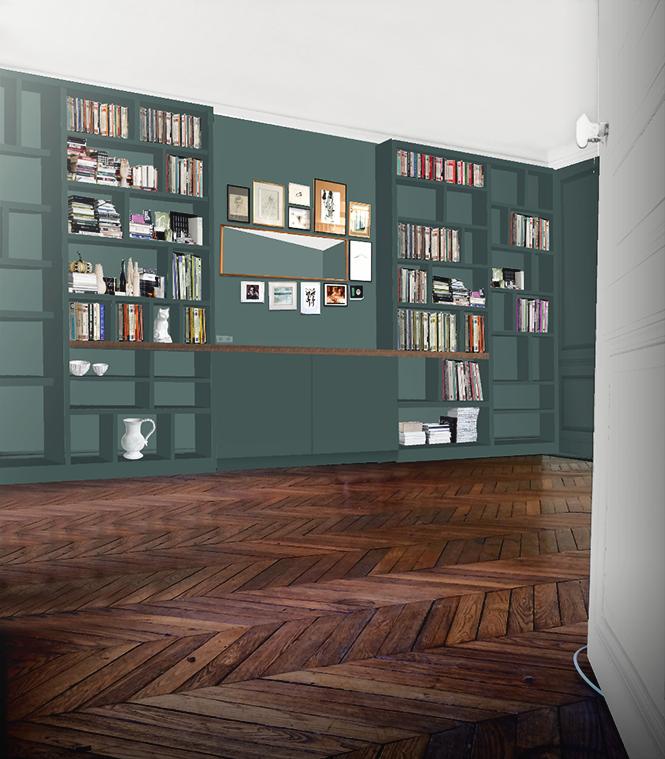 construire sa bibliothque murale beautiful construire sa bibliothque with construire sa. Black Bedroom Furniture Sets. Home Design Ideas