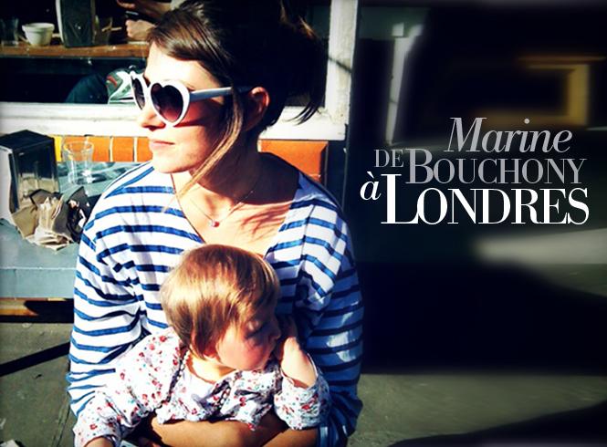 Marine de Bouchony à Londres