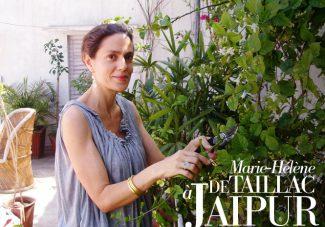 Marie-Hélène de Taillac à Jaipur