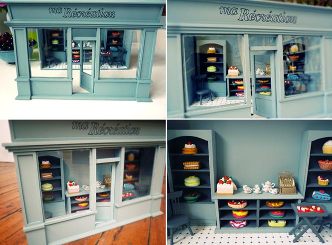 Tea room miniature