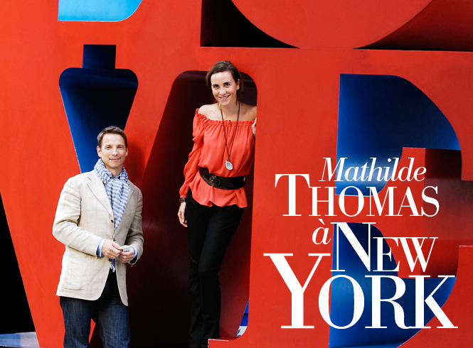 Mathilde Thomas à New York