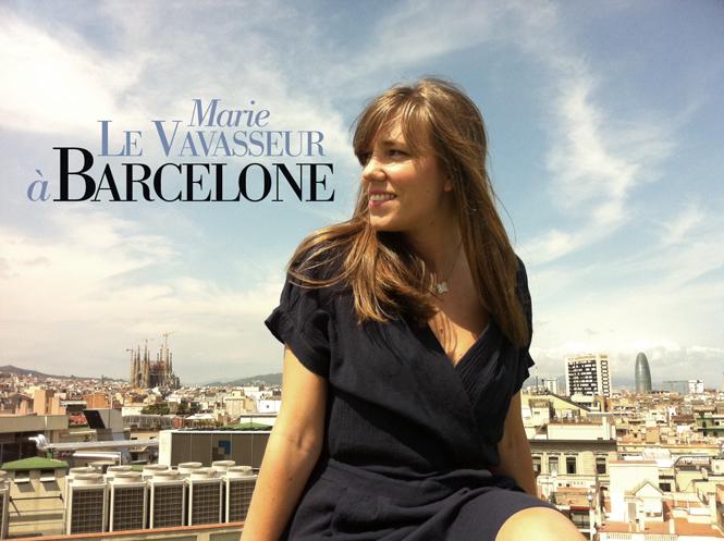 Marie Le Vavasseur à Barcelone
