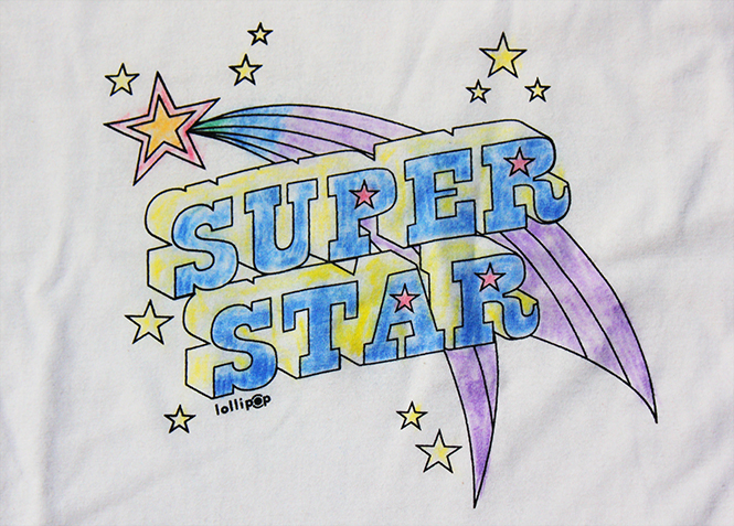 superstar du coloriage