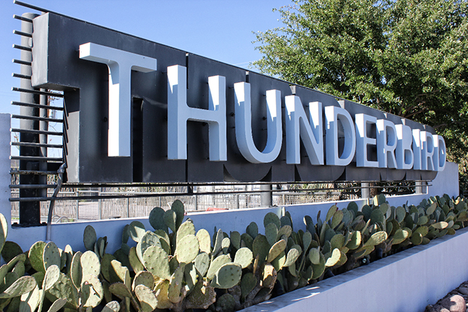 Thunderbird Hotel, Marfa, Texas