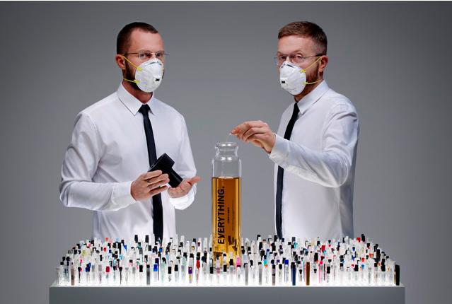 1200 parfums sur la peau…