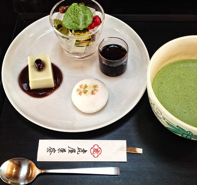 Tokyo-Kyoto #7: jardin de pierre et pâtisserie de luxe