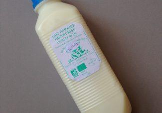 C'est quoi cette bouteille de lait?