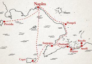 Naples, sa côte et ses îles