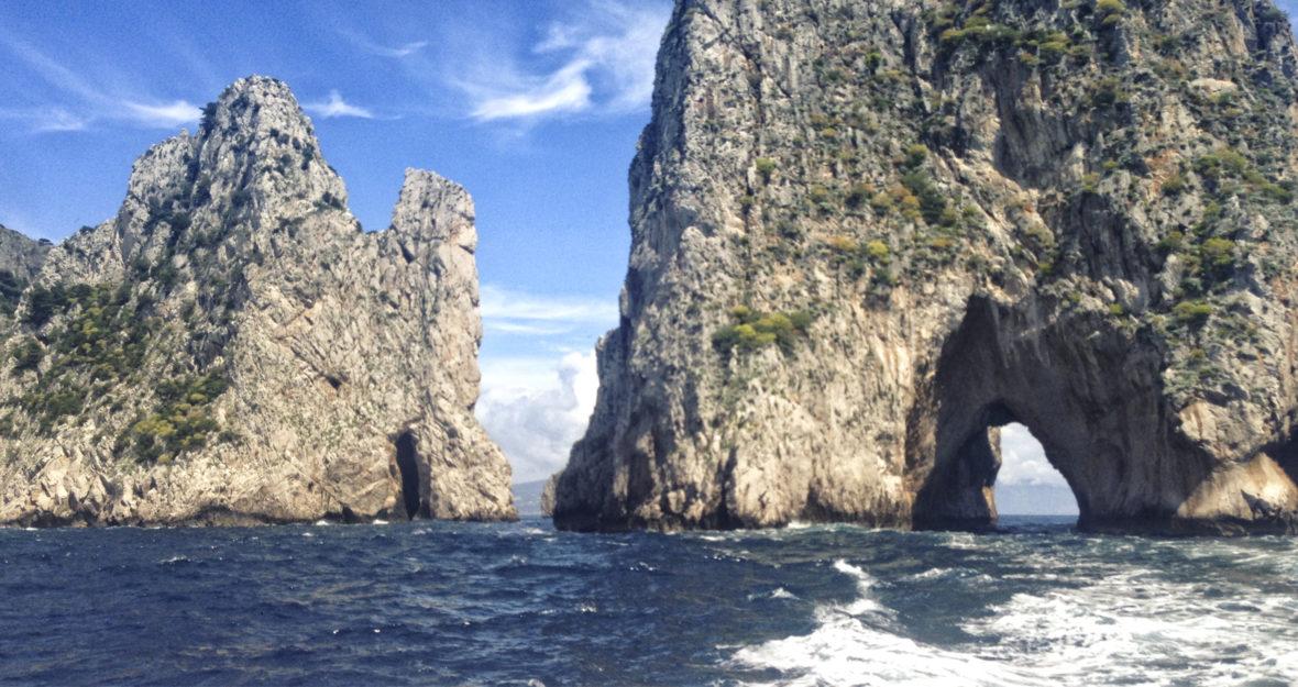 Capri en bateau et en Airbnb