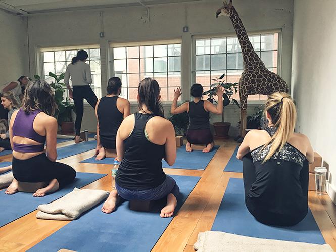 Sky Ting Yoga à New York City