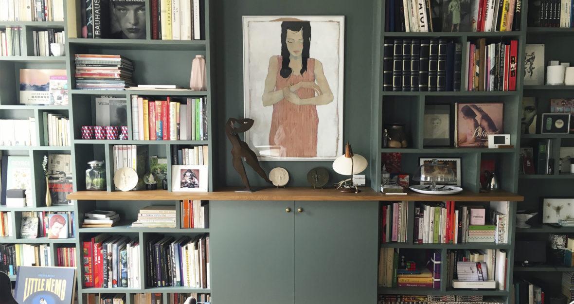 9ea1199cc5e61 Une bibliothèque sur mesure - Lili Barbery