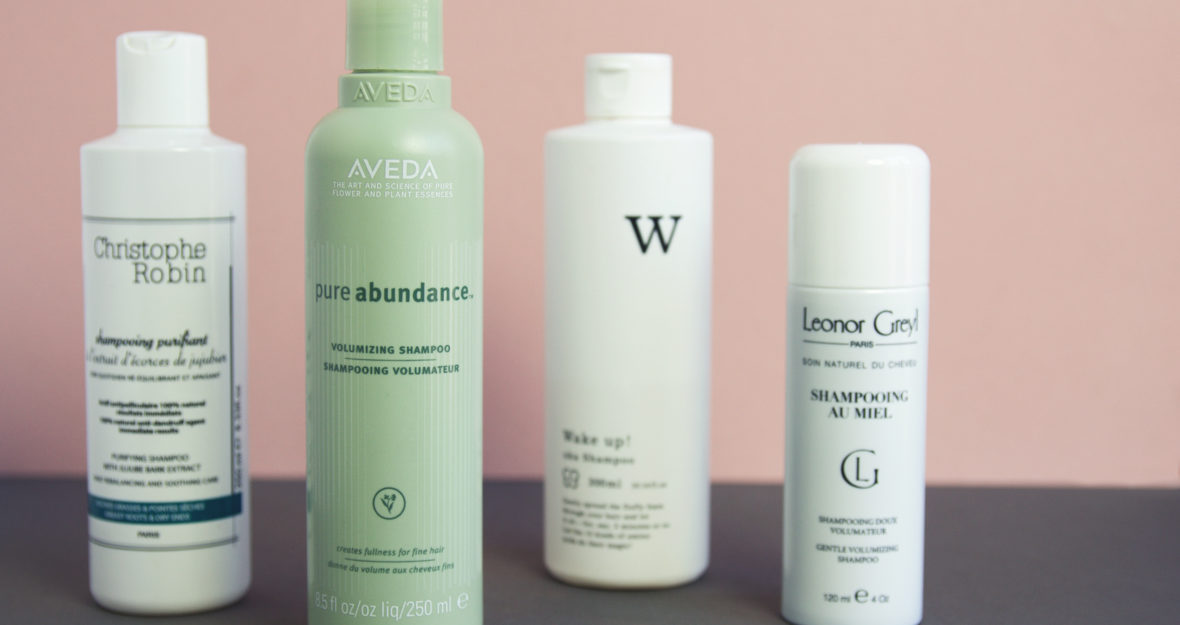 PUMP UP THE VOLUME: MES SHAMPOOINGS PRÉFÉRÉS