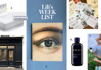 Lili's Weeklist #11