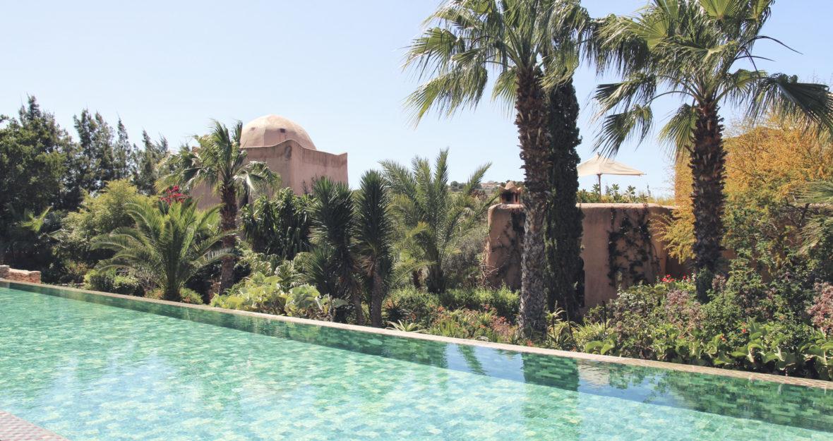 Le jardin des Douars au Maroc